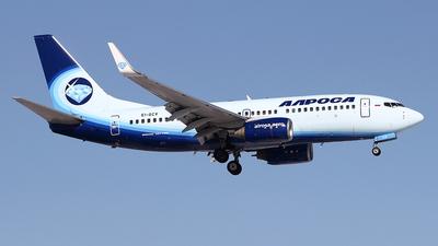 A picture of EIGCV - Boeing 7377CT - Alrosa - © Airyura