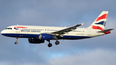 G-EUYK - Airbus A320-232 - British Airways
