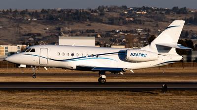 N247WD - Dassault Falcon 2000 - Private