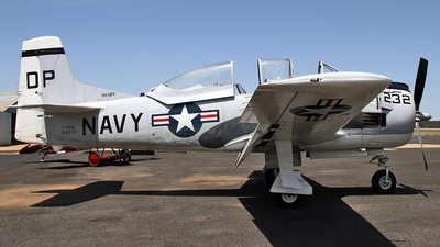 VH-DPT - North American T-28D Trojan - Private