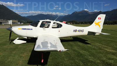HB-KHG - Cirrus SR22 - Motorfluggruppe Oberengadin