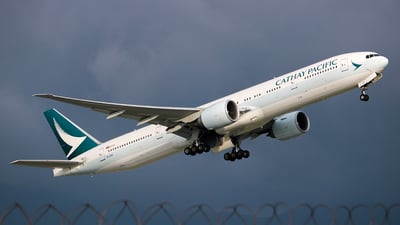 B-KQD - Boeing 777-367ER - Cathay Pacific Airways