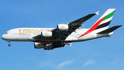 A6-EUM - Airbus A380-842 - Emirates