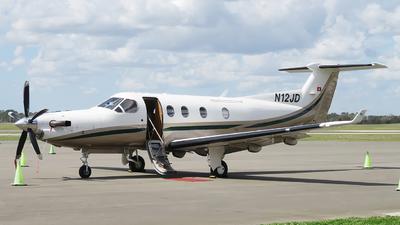 A picture of N12JD - Pilatus PC12/45 - [228] - © Orlando Suarez