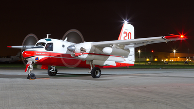 F-ZBEH - Conair S-2F Turbo Firecat - France - Sécurité Civile
