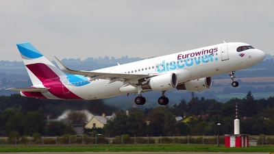 D-AIUY - Airbus A320-214 - Eurowings Discover