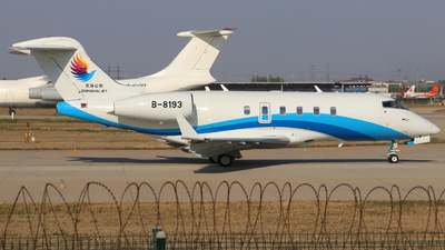 B-8193 - Bombardier BD-100-1A10 Challenger 300 - Donghai Jet