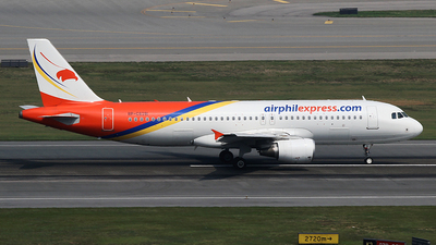 RP-C8391 - Airbus A320-214 - Airphil Express