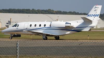 N524BB - Cessna 560XL Citation XLS+ - Private