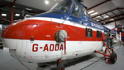 G-AODA - Westland Whirlwind Srs.3 - Bristow Helicopters