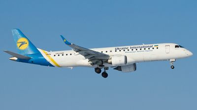 UR-EMB - Embraer 190-100STD - Ukraine International Airlines