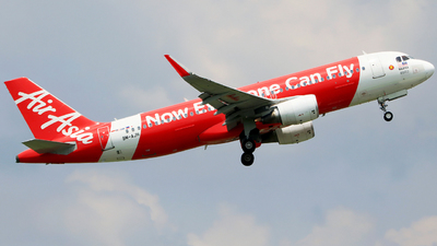 A picture of 9MAJH - Airbus A320216 - AirAsia - © Heppy Mahendro