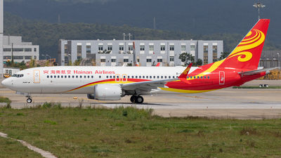 B-1100 - Boeing 737-8 MAX - Hainan Airlines