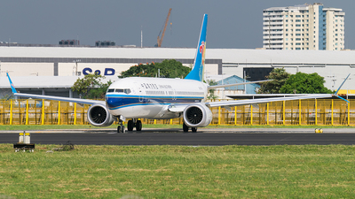 B-205K - Boeing 737-8 MAX - China Southern Airlines