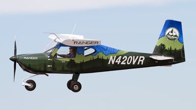 N420VR - Vashon Aircraft Ranger R7 - Private