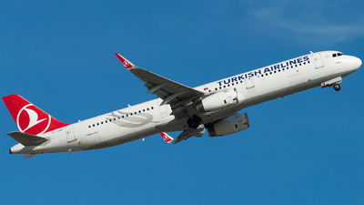 A picture of TCJSP - Airbus A321231 - Turkish Airlines - © Furkan Borakazi
