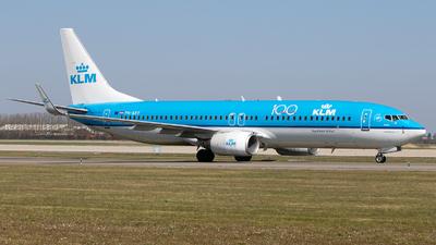 A picture of PHBXY - Boeing 7378K2 - KLM - © Freek Blokzijl