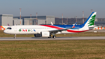D-AVZK - Airbus A321-271NX - Middle East Airlines (MEA)