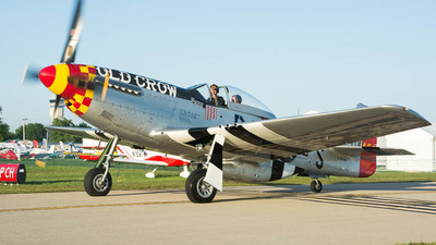NL451MG - North American P-51D Mustang - Old Crow