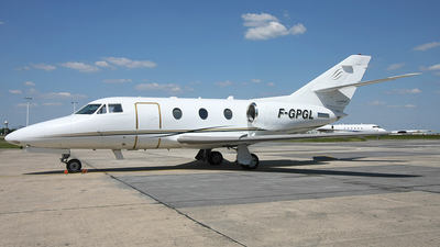 F-GPGL - Dassault Falcon 100 - Trans Hélicoptère Service (THS)