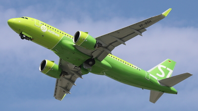 D-AVVP - Airbus A320-271N - S7 Airlines