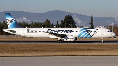SU-GBV - Airbus A321-231 - EgyptAir