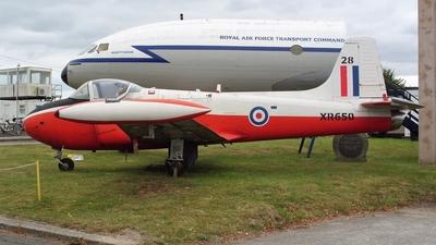 XR650 - Hunting Percival Jet Provost T.4 - United Kingdom - Royal Air Force (RAF)
