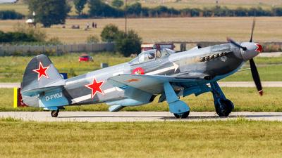 D-FYGJ - Yakovlev Yak-3 - Private
