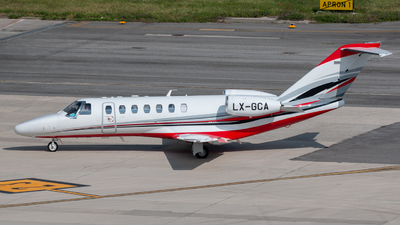 LX-GCA - Cessna 525B CitationJet 3+ - Private