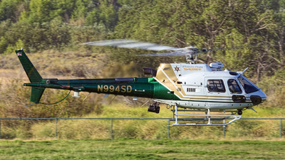 N994SD - Eurocopter AS 350B3 Ecureuil - United States - Riverside County Sheriff, California