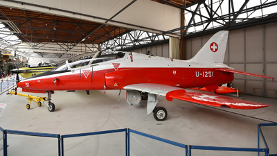 U-1251 - British Aerospace Hawk Mk.66 - Switzerland - Air Force