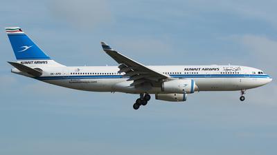 9K-APD - Airbus A330-243 - Kuwait Airways