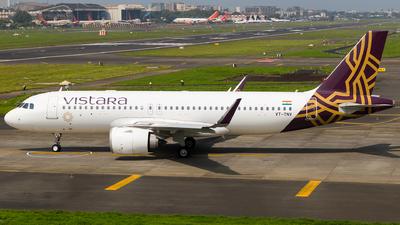 VT-TNV - Airbus A320-251N - Vistara