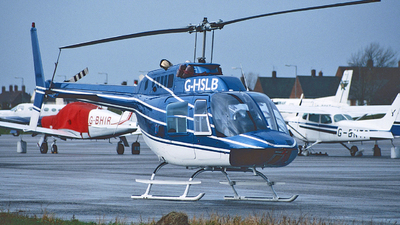 G-HSLB - Bell 206B JetRanger - Private
