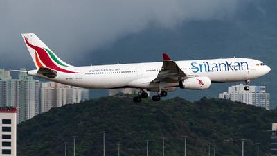 4R-ALR - Airbus A330-343 - SriLankan Airlines