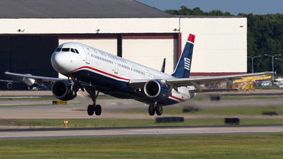 N198UW - Airbus A321-211 - US Airways