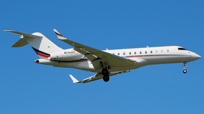 N116QS - Bombardier BD-700-1A11 Global 5000 - NetJets Aviation
