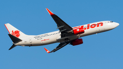 HS-LUH - Boeing 737-8GP - Thai Lion Air
