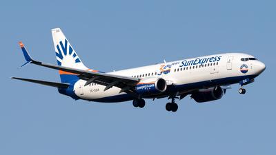 A picture of TCSOA - Boeing 7378HC - SunExpress - © Julian Azeroth
