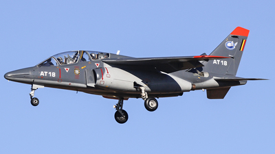 AT-18 - Dassault-Breguet-Dornier Alpha Jet 1B+ - Belgium - Air Force