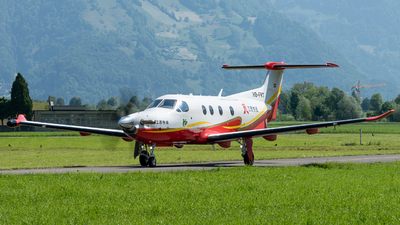 A picture of HBFRT - Pilatus PC12 - Pilatus Flugzeugwerke - © Thierry Weber