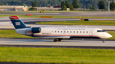 N223JS - Bombardier CRJ-200ER - US Airways Express (PSA Airlines)