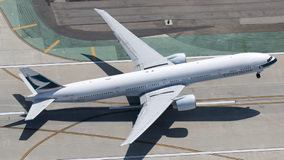 B-KPA - Boeing 777-367ER - Cathay Pacific Airways