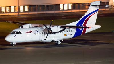A picture of ECIVP - ATR 42300(F) - Swiftair - © Rainer Spoddig
