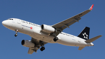 A picture of TCJPP - Airbus A320232 - Turkish Airlines - © Ali Mithat Ozdogan
