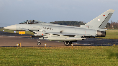 30-52 - Eurofighter Typhoon EF2000 - Germany - Air Force
