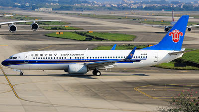 B-1916 - Boeing 737-81B - China Southern Airlines