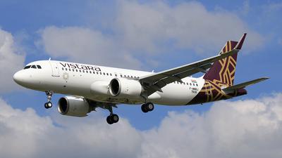 F-WWBJ - Airbus A320-251N - Vistara