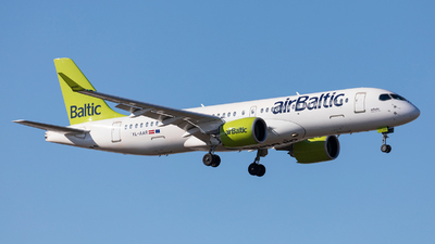 A picture of YLAAR - Airbus A220300 - Air Baltic - © Oleksandr Smerychansky