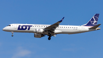 SP-LNH - Embraer 190-200IGW - LOT Polish Airlines